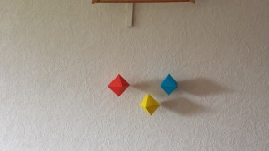 mobile des octaèdres