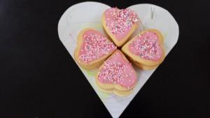 coeur biscuits