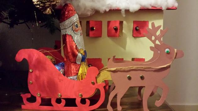 Bricolages nounou montessori - Bricolage pere noel ...