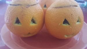 orange garnie