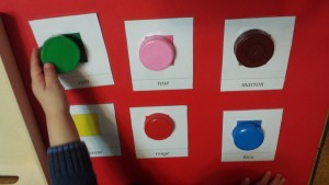 montessori couleurs